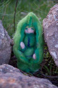 « Lutin petit pois » réalisation d'Elysa Guillet