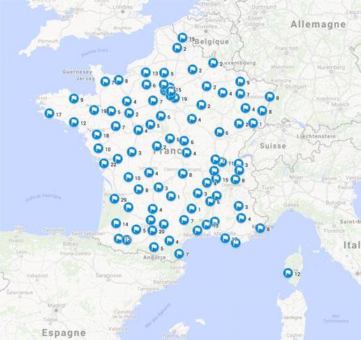 Distribution de semences de la variété d'oignon Saint Turjan sur la France par l'Association Kokopelli depuis début 2016