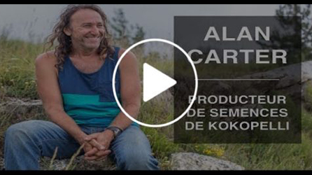 Vidéo Alan Carter Producteur semences Association Kokopelli