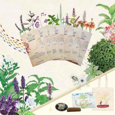L'Arc-en-ciel de Plantes à Parfums