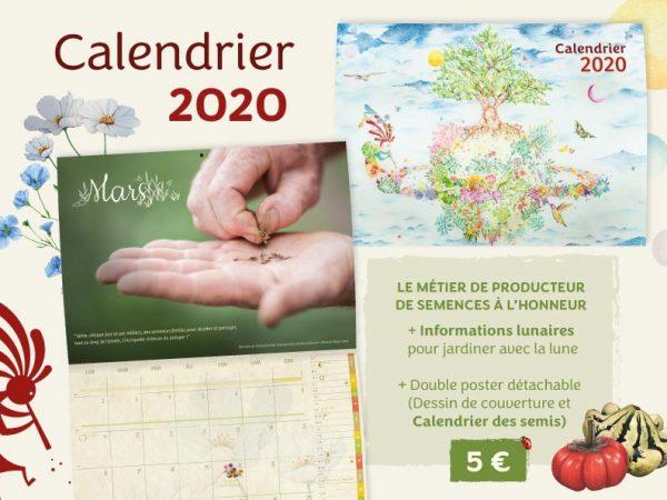 Affiche, prix, calendrier Kokopelli 2020